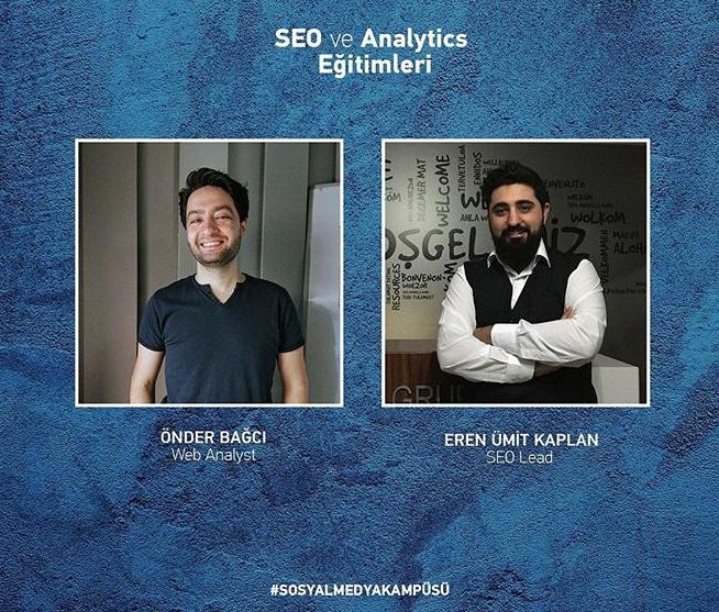Sosyal Medya Kampüsü SEO&Analytics Eğitimleri
